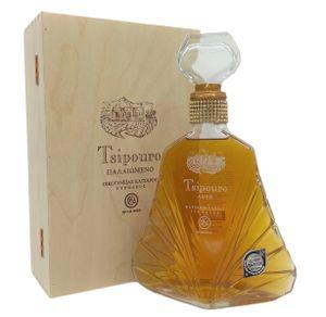 Tsipouro Tirnavou aged mit Holzbox 40% 0,7l Katsaros