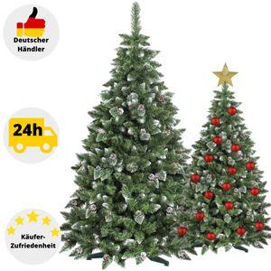 Künstlicher Weihnachtsbaum Tannenbaum mit Ständer Christbaum Kunstbaum 180 cm