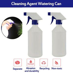 3 Stück 500ml Plastik Trigger SprühflascheLeere FlascheKüchenbad Reinigungsspritze