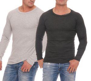 2 Hemden gemischt Herren Thermo Unterwäsche, Größe :10