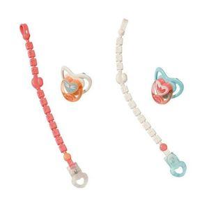 ZAPF 703021 Baby Annabell® Schnuller mit Clip, sortiert