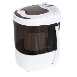 Camry CR 8054 Mini Waschmaschine + Schleuder Braun 3 kg Camping Reisen