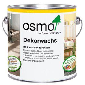 OSMO 3186 Dekorwachs Weiß Matt 2,5 Ltr