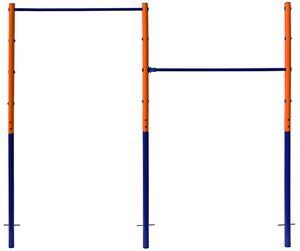 Best Sporting 61393 Doppel-Turnreck Tina Spielplatz blau/orange/blau