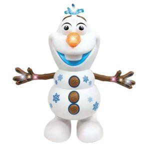 Olaf - Interaktiver Lernroboter zum Spielen und Lernen, Tanzen, Musizieren,Elektrisches Tanzen Schneemann Musik Lichter Kinder Weihnachtsgeschenke Exquisite Spielzeuge