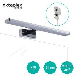 Spiegelleuchte IP44 / LED Badleuchte BALI W - 40 cm 8 W