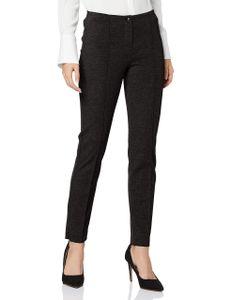 23104 Gerry Weber, Edition Line,  7/8 Damen Jeans Hose Jeggings, Klassischer Stretchstoff, schwarz, D 46 Inch 36 L 30