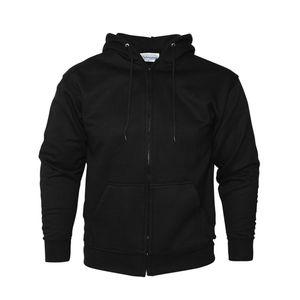 Absolute Apparel Herren Reißverschluss Pullover AB115 (L) (Schwarz)