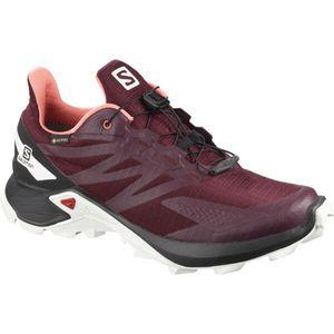 Salomon Shoes Supercross Blast Gtx W Wineta Winetasting/Black/Burnt Co 40