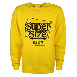 """Calvin Klein Sweatshirt """"Modernist"""" -  J90J900054 / Modernist - Gelb-  Größe: XL(EU)"""