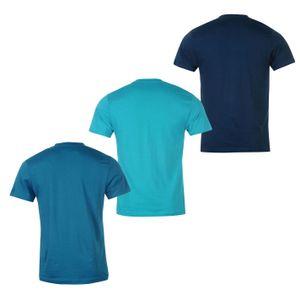 Donnay Herren, Herren 3er Pack T Shirts XXXL