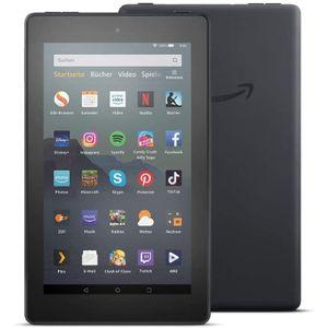 Amazon Fire 7' 16GB Black with Alexa / special offers (B07JQRWLXM), Farbe:Schwarz