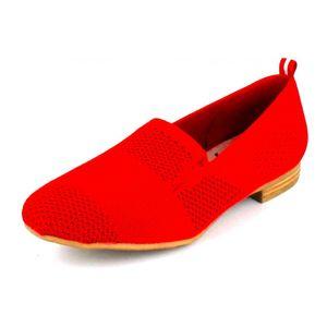 Jana Da.-Slipper red Damen Slipper in Rot, Größe 36