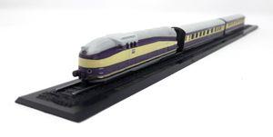 Atlas 1:220 Spur Z Eisenbahn Railway Henschel Wegmann Zug Standmodell ohne Funktion Minitrains Diesel Lokomotive und 2 Wagen