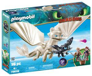 PLAYMOBIL Dragons 70038 Tagschatten und Kinder mit Babydrachen
