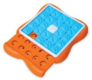 Nina Ottosson intelligenzspielzeug Slider 38 x 5 cm orange/blau