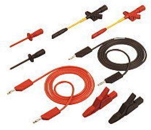 Messleitungs-SET PMS 4 Kfz rot, schwarz