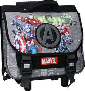Marvel schulwagen Avengers junior 17,5 Liter Polyester grau