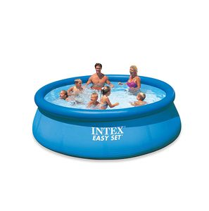 Aufblasbarer Pool Easy Pool Set 366 x 76 cm blau