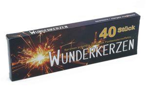 40 Stk. Wunderkerzen - 17 cm