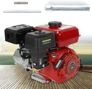Benzinmotor 4 Takt Motor Standmotor Kartmotor Motor 7,5 HP 5.1 KW Pumpen 7,5 PS Benzin für Wasserpumpe Gartenpumpe Luftgekühlter
