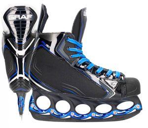 tblade Schlittschuhe Graf Pk150 Blue Eishockey und Freestyle t blade Schlittschuhe Eislaufen- : 45 Größe: 45