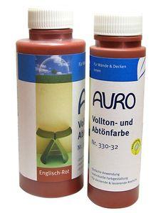 AURO Vollton- und Abtönfarbe, Ocker-Gelb - Nr. 330-10 - 2,5 Liter