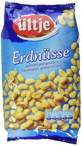 Ültje Erdnüsse knackige geröstet und gesalzen Erdnüsse 1000g