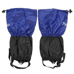 1 Paar Kinder Snow Leg Gamaschen Snow Leg Boot Cover Strap Kinder Outdoor High Gaiter zum Klettern Skifahren,Blue,