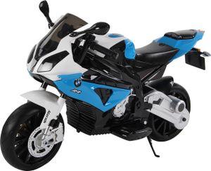 Kindermotorrad Bmw S1000rr Lizenz Kinderelektro Motorrad Kinderfahrzeug Dreirad, Farbe:Blau