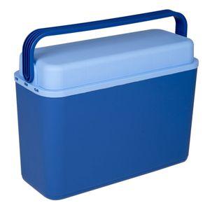 Connabride Kompakte Kühlbox Arctic | Blau | 12 L | Kunststoff | ca. 29,5 x 17 x 41 cm