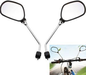 Fahrradspiegel 2X Fahrrad Mobilität Spiegel Rückspiegel Lenkspiegel Verstellbar 360° für Lenker