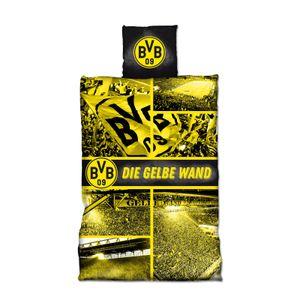 BVB 09 Biber- Bettwäsche 'Gelbe Wand'