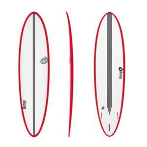 Surfboard TORQ Epoxy TET CS 7.2 Fun Carbon Red