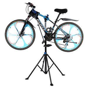 Verstellbar Fahrrad Montageständer Reparaturständer Ständer höhenverstellbar klappbar 50 kg 360°