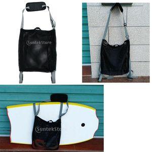 Einstellbare SUP Paddleboard Trageschlaufe Surfboard Aufbewahrung Mit Netzbeutel