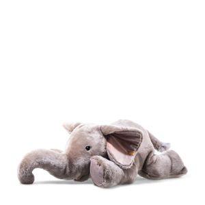 Steiff  Trampili Elefant 85 grau liegend 064890