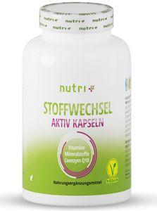nutri+ Stoffwechsel Aktiv, 60 Kapseln Dose