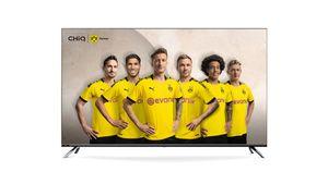 CHiQ 4K Ultra HD LED 139cm (55 Zoll) U55H7SX Android Smart TV, Triple Tuner, HDR