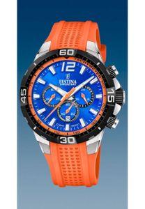 Festina Herren Uhr F20523/6 Chrono Bike Kautschuk orange