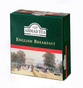 Ahmad Tea- English Breakfast 100 St. Schwarztee-Beutel á 2 Gramm mit Band