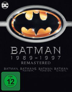Batman 1-4  Collection (BR)  4 Discs remastered