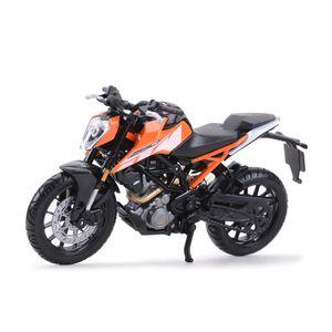 Bburago 51083 KTM 250 Duke orange/schwarz Maßstab 1:18 Modellmotorrad