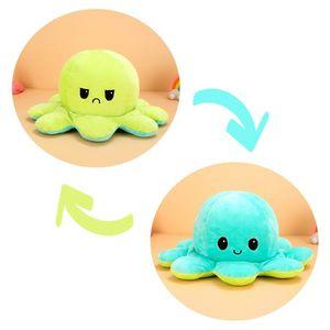 (Stil I - 50cm) Kuscheltiere, Niedliche Oktopus-Plüsch-Spielzeug, Doppelseitig Flip Oktopus-Stofftierpuppe, Kreative Spielzeuggeschenke für Kinder / Mädchen / Jungen / Liebhaber