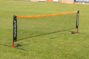 Carrington Tennisnetz in 6 m - Fussballtennis - Mobil - Inkl. Tragetasche - extrem Leichter Aufbau - WETTERFEST