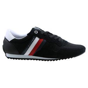 Tommy Hilfiger Essential Herren Sneaker Schwarz (FM0FM02666 BDS) Größe: 44