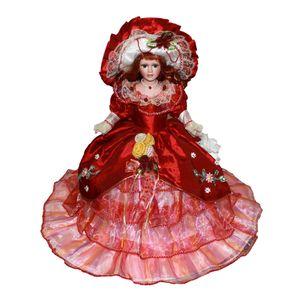 Minipuppe Porzellan Puppe Porzellanpuppen für Kinder Geburtstagsgeschenke Style7 14x9x45cm