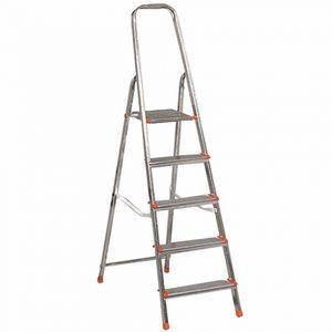 ALPFA 800076 Aluminium-Leiter 8 Stufen