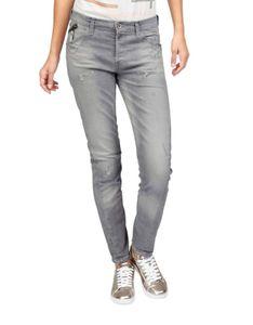 Garcia Marken-Damen-Jeans, grau-used, 32 inch, Größe:27