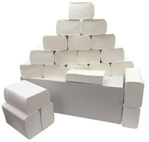 4400 8800 13200 Blatt Papier Handtücher Falthandtücher 2lagig Einmalhandtücher, Menge:4400 Stück